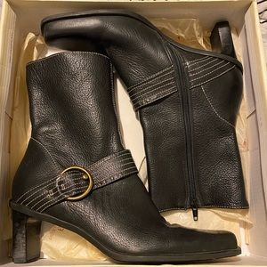 Size 8 leather boots